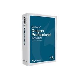 Dragon Professional Individual - (v. 15) - Box-Pack - 1 Benutzer - non-VAR - DVD Produktbild