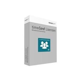 timeCard Personalverwaltung Erweiterung - Box-Pack - 25 Mitarbeiter - Win - Deutsch Produktbild