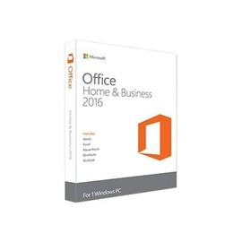 Microsoft Office Home and Business 2016 - Box-Pack - 1 PC - ohne Medien, P2 - Win - Deutsch Produktbild