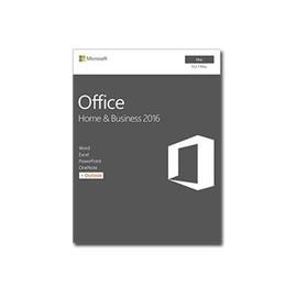 Microsoft Office for Mac Home and Business 2016 - Box-Pack - 1 Mac - ohne Medien, P2 - Mac - Deutsch Produktbild