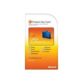 Microsoft Office Professional 2010 - Lizenz - 1 PC - PKC - Win - Deutsch Produktbild