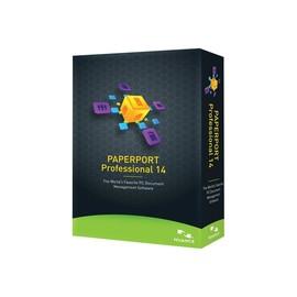 PaperPort Professional - (v. 14) - Box-Pack - 1 Benutzer - academic - DVD Produktbild