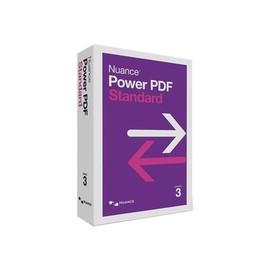 Nuance Power PDF Standard - (v. 3) - Box-Pack - 1 Benutzer - Win - Französisch Produktbild