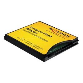 DeLOCK Compact Flash Adapter - Kartenadapter (MMC, SD, SDHC, SDXC) - CompactFlash Produktbild