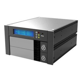RAIDON inTank SR2611-2S-S2R+ - Internes RAID-Gehäuse mit Tastensperre, LCD-Anzeige, Lüfter, Ausfallalarm für Produktbild