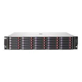 HPE StorageWorks Disk Enclosure D2700 - Speichergehäuse - 25 Schächte (SATA-300 / SAS-2) - HDD x 0 - Rack - einbaufähig Produktbild