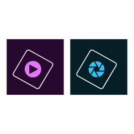 Adobe Photoshop Elements 2018 & Premiere Elements 2018 - Box-Pack - 1 Benutzer - Win, Mac - Deutsch Produktbild