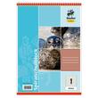 Spiralschulblock A5 Lineatur 1 40Blatt 70g holzfrei weiß Staufen-Demmler 42201 Produktbild Additional View 1 S