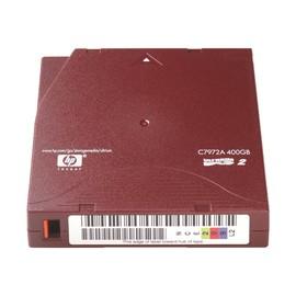 HPE Ultrium RW Data Cartridge - 5 x LTO Ultrium 2 - 200 GB / 400 GB - etikettiert - Rot Produktbild