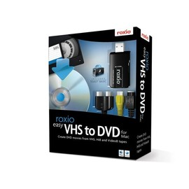 Roxio Easy VHS to DVD - Box-Pack - 1 Benutzer - CD - Mac - Europa Produktbild