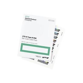 HPE LTO-8 Ultrium RW Bar Code Label Pack - Strichcodeetiketten Produktbild