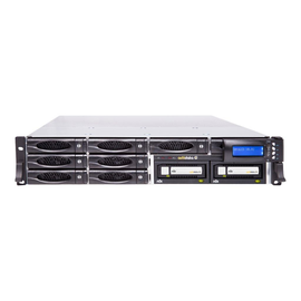 actidata actiNAS SL 2U-8 RDX - NAS-Server - 8 Schächte - 50 TB - Rack - einbaufähig Produktbild
