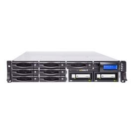 actidata actiNAS SL 2U-8 RDX - NAS-Server - 8 Schächte - 40 TB - Rack - einbaufähig Produktbild