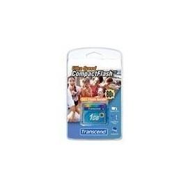 Transcend Ultra Performance - Flash-Speicherkarte - 1 GB - 80x - CompactFlash Produktbild