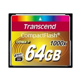 Transcend Ultimate - Flash-Speicherkarte - 64 GB - 1000x - CompactFlash Produktbild