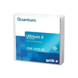 Quantum - 20 x LTO Ultrium 6 - 2.5 TB / 6.25 TB - Schwarz - Library Pack Produktbild