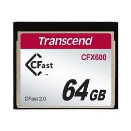 Transcend CFast 2.0 CFX600 - Flash-Speicherkarte - 64 GB - CFast 2.0 Produktbild