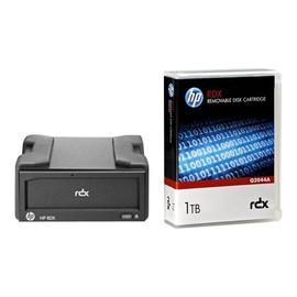 HPE RDX Removable Disk Backup System - Laufwerk - RDX - SuperSpeed USB 3.0 - extern - mit Kartusche mit 1 TB Produktbild