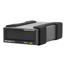 Tandberg RDX QuikStor - Laufwerk - RDX - SuperSpeed USB 3.0 - extern - mit 500-GB-Kassette Produktbild