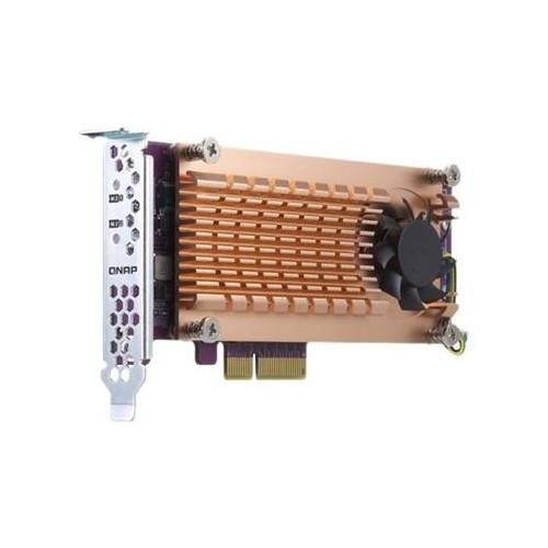 qnap qm2 2p 344 speicher controller m 2 pcie low profile pcie 3 0 x4 kaufen storage. Black Bedroom Furniture Sets. Home Design Ideas
