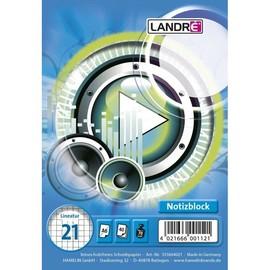 Spiralnotizblock Work A6 liniert 40Blatt 70g holzfrei weiß Landré 100050192 Produktbild