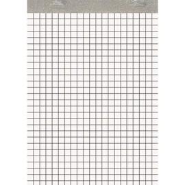 Notizblock A5 kariert ohne Deckblatt 50Blatt 60g holzfrei weiß Landré 100050636 Produktbild