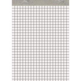 Notizblock A5 kariert ohne Deckblatt 50Blatt 60g Recycling Landré 100050291 Produktbild