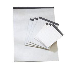 Notizblock A6 kariert ohne Deckblatt 50Blatt Recycling Soennecken 01252 Produktbild