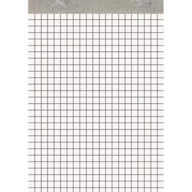 Notizblock A6 kariert ohne Deckblatt 50Blatt 60g holzfrei weiß Landré 100050641 Produktbild