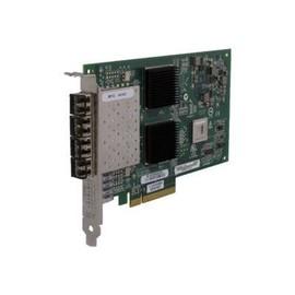 HPE StoreFabric 84Q - Hostbus-Adapter - PCIe 2.0 x4 / PCIe x8 Low-Profile - 8Gb Fibre Channel x 4 Produktbild