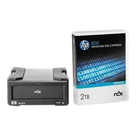 HPE RDX Removable Disk Backup System - Laufwerk - RDX - SuperSpeed USB 3.0 - extern - mit 2-TB-Kassette Produktbild