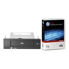 "HPE RDX Removable Disk Backup System - Laufwerk - RDX - SuperSpeed USB 3.0 - intern - 5.25"" (13.3 cm) Produktbild"