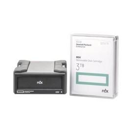 HPE RDX Removable Disk Backup System - Laufwerk - RDX - SuperSpeed USB 3.0 - extern - mit 3-TB-Kassette Produktbild