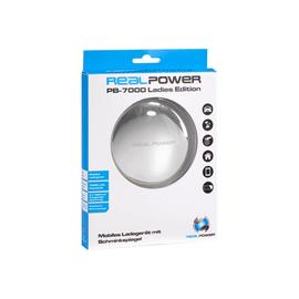 Realpower PB-7000 Ladies Edition - Externer Batteriensatz 7000 mAh - 1 A - Silber Produktbild