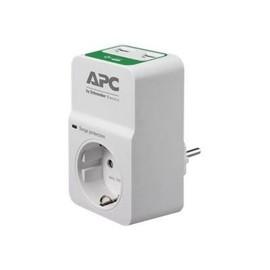 APC Essential Surgearrest PM1WU2 - Überspannungsschutz - Wechselstrom 230 V - Ausgangsanschlüsse: 1 - Russland - Produktbild