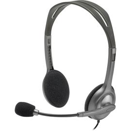 Headset H110 Audio Klinke Stereo schwarz Logitech 981-000271 Produktbild