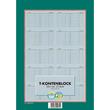 T-Kontenblock A4 8cm gelocht 25Blatt 80g chlorfrei weiß Landré 100050663 Produktbild