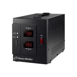 PowerWalker AVR 3000/SIV - Automatische Spannungsregulierung - Wechselstrom 230 V - 2400 Watt - 3000 VA - Produktbild