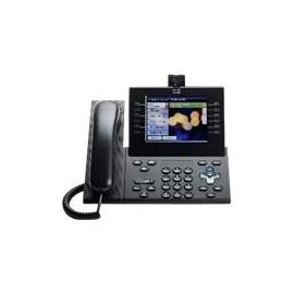 Cisco Unified IP Phone 9971 Standard - IP-Videotelefon - IEEE 802.11b/g/a (Wi-Fi) - SIP, RTCP, SRTP - mehrere Produktbild