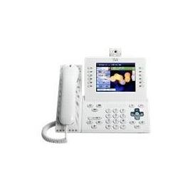 Cisco Unified IP Phone 9971 Slimline - IP-Videotelefon - IEEE 802.11b/g/a (Wi-Fi) - SIP - mehrere Leitungen - Produktbild