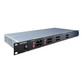 AGFEO ES 628 IT - Hybrid PBX - 1U - in Rack montierbar - 1 x 10/100/1000 Produktbild