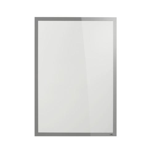 Informationsrahmen DURAFRAME SUN A1 silber selbstklebend Durable 5006-23 Produktbild