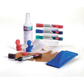 STARTER-SET für Whiteboard Tafelwischer + Spray + Stifte + Magnete Nobo 1901430 (SET=32 STÜCK) Produktbild