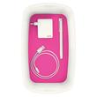 Aufbewahrungsbox MyBox mit Deckel für A5 318x128x191mm 5Liter weiß/pink Kunststoff Leitz 5229-10-23 Produktbild Additional View 4 S