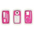 Aufbewahrungsbox MyBox mit Deckel für A5 318x128x191mm 5Liter weiß/pink Kunststoff Leitz 5229-10-23 Produktbild Additional View 7 S