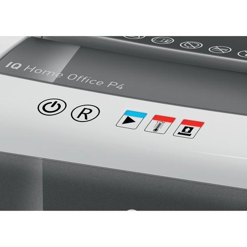 Aktenvernichter IQ Home Office Slim P4 für 10Blatt 4x28mm Partikelschnitt Leitz 8001-00-00 (Sicherheitsstufe P-4) Produktbild Additional View 4 L