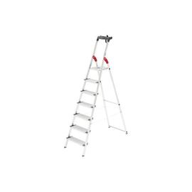 Stehleiter PROFILINE S 150 XXL 7-stufig silber Aluminium Hailo 8817-027 Produktbild
