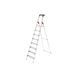 Stehleiter PROFILINE S 150 XXL 8-stufig silber Aluminium Hailo 8818-027 Produktbild