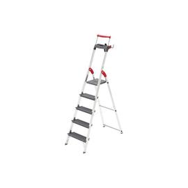 Stehleiter PROFILINE S 225 XXR 5-stufig silber Aluminium Hailo 8895-027 Produktbild
