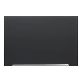 "Glas-Magnetboard Diamond Widescreen 85"" 160x188cm magnetisch schwarz Nobo 1905182 Produktbild"